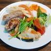居酒家 土間土間 - 料理写真:前菜ブッフェでとってきたもの色々(2012年12月)