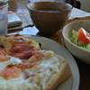 カフェアッシュ - 料理写真:「クロックムッシュ」のパンセット