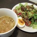 16641086 - セットのスープ&サラダ