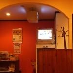 スパイスマジック カルカッタ - インドのテレビが流れています