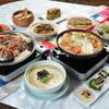 やんちゃ坊 - 料理写真:おまかせ料理3千円コース料理。4名様から。パジョン、海鮮チゲ、アワビ粥等が入っています。