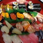 福寿司 - 上にぎり、うなきゅう