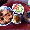 一銚 - 料理写真:ソースかつ丼