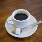 カレーの店 ボンベイ - デミタスコーヒーもセットになっております。コーヒーが苦手な方は変更可