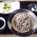 16677660 - もりそば 500円 ゆり根の天ぷら       600円