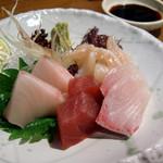魚庵 - <1月>ビールセット(お造り)