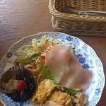 インフィールド - ランチ前菜