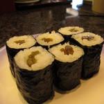 廻転寿司 伊豆太郎 - わさび茎巻¥210