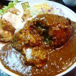 カレー倶楽部 ルウ - チキン南蛮カレー・・チキン南蛮はお肉もジューシーでタレのお味もよく美味しいそうですよ。
