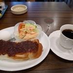 リヨン - 小倉あんトーストセット