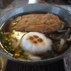 数馬茶屋 - 料理写真:超おっきい揚げと焼きもち、入ってます!