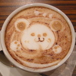Cafe DRAPERIE - カプチーノ 480円