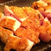 庭つ鶏 - 料理写真:名物 皮パリもも焼き