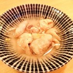 庭つ鶏 - 塩煮込み 先付け