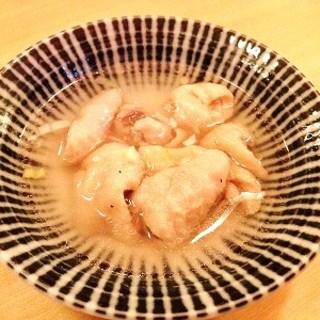 庭つ鶏 - 料理写真:塩煮込み 先付け