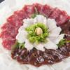 べんがら酒場 - 料理写真:新鮮な馬刺は色と歯ごたえが違う『熊本直送馬刺』