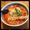 老坊担担麺 - 料理写真:鶏担々麺¥880,本場と同じ辛さの3辛をチョイスしました。花椒等の香辛料がたっぷりの本場風味付けが美味い!