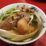 牛たんの一仙 - ランチのテールスープ