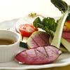 Souzaemon - 料理写真:地元有機野菜の軽いグリル バーニャカウダソースで