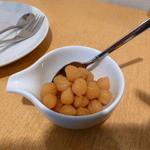 花よろず - 豆と葡萄の和パフェ