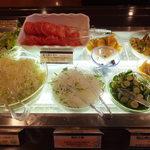 16758066 - 岡山県産の野菜を用いたサラダバー