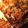 黒木屋 - 料理写真:生産者から毎日仕入れる新鮮地頭鶏☆★豪快に焼き上げる炭火焼きはなんとも美味♪♪
