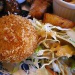 レストラン カントリーパパ - 農園ランチ アップ