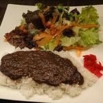 カフェ スマイル - カレーライス700円