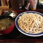 甚五郎 - 【初訪】鴨汁うどん(650円)