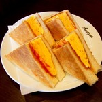 アマゾン - 玉子トースト(500円)