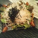 旬鮮炭火焼 獺祭 - サラダ