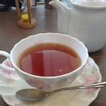 岡山珈琲館 - 紅茶ホット(アールグレイ)