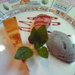 シェ・モア - セットのデザート