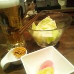 16837968 - きゃべつ・お味噌・お新香