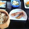 田舎の食堂 - 料理写真:しゃもご飯定食(800円)