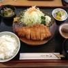 とんかつ勝亭 - 料理写真:ロースかつ定食 (1,250円/ランチタイム 1,000円)