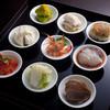 膳處漢ぽっちり - 料理写真:ふかひれ美人膳の豆皿前菜9点盛