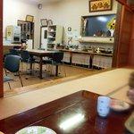 桜井旬鮮市場四季百膳ほもり   - 座敷席から見た店内の様子