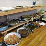 桜井旬鮮市場四季百膳ほもり   - サラダに揚げ物に煮物に和え物に…いろいろあります♪