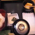 16858159 - 葛煉り餅のデザート付き