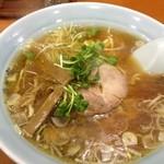 光華飯店 - ラーメンセット(600円)のラーメン
