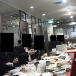 神田 天府 - 201301 天府 1階席の様子