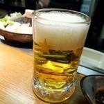 札幌成吉思汗 しろくま  - 生ビールはサッポロクラシック