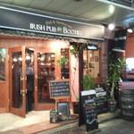 Irish pub Booties・・・ - 英国風の上品なシンプルさを主成分とした、落ち着いたデザインの店構え
