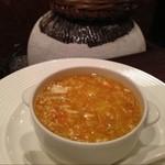 中国酒家 大三元 - 上海蟹と鱶鰭のスープ