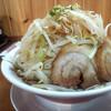 ラーメン どかいち - 料理写真:ラーメン(野菜増し)