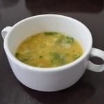 カトマンドゥカリーPUJA - セットのスープ