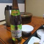 松川温泉 峡雲荘 - おビール♪