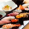 寿しの いく味 - 料理写真:極上活け〆鮮魚を使った握り寿し