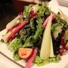 アンフォラ - 料理写真:産直野菜のサラダ 旬のフルーツドレッシング